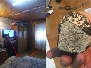 Thiên thạch rơi trúng nhà dân với tốc độ 250km/h