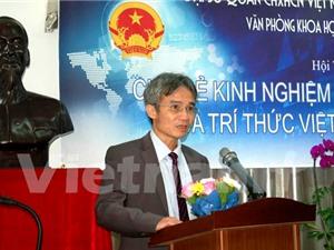 Trí thức Việt kiều tại Hàn Quốc hội tụ