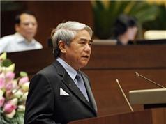 Bộ trưởng Nguyễn Quân trả lời chất vấn về Quỹ đầu tư mạo hiểm