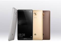 Huawei trình làng smartphone mạnh nhất thế giới Mate 8
