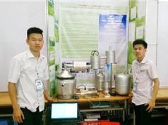 Hệ thống xử lý khí thải từ lò đốt đầy tiềm năng của học trò Đà Nẵng