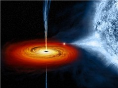 Hố đen phun trả vật chất sau khi nuốt ngôi sao