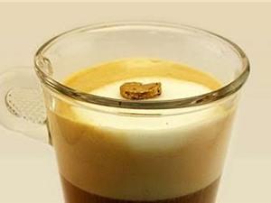 Thỏi vàng siêu nhẹ, nổi được trên bọt sữa