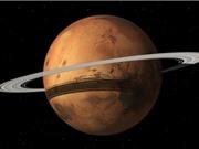 Mặt trăng Phobos tan vỡ sẽ hóa vành đai bao quanh sao Hỏa