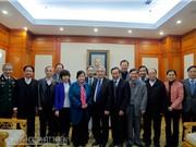 Bộ trưởng Nguyễn Quân gặp gỡ đại biểu KH&CN dự Đại hội Thi đua yêu nước toàn quốc