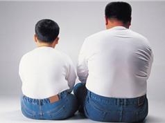 Con bị béo phì là do cha?