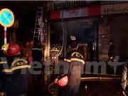 Hà Nội: Cháy giữa đêm ở trung tâm thủ đô, hàng chục người thoát chết