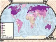 5 tấm bản đồ khiến bạn thay đổi cách nhìn về thế giới