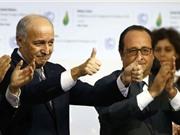 195 quốc gia thỏa thuận: giữ nhiệt độ toàn cầu dưới 2 độ C