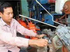 Nông dân chế tạo máy xuất khẩu