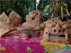 Phát hiện thêm nhiều hiện vật cổ ở di tích Hành cung Lỗ Giang