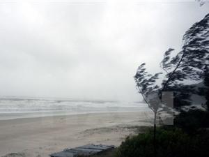 Không khí lạnh tăng cường lệch Đông, vùng biển gió giật cấp 8