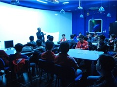 Chiếu phim 3D về điện hạt nhân cho sinh viên