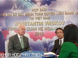 Nga muốn sớm hoàn thành dự án Nhà máy Điện hạt nhân Ninh Thuận 1