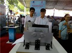 Sinh viên Việt chế máy in chữ nổi Braille cho người khiếm thị