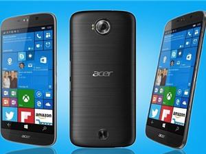 Cận cảnh smartphone cao cấp chạy Windows 10 của Acer