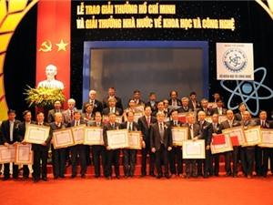 Lập Hội đồng xét tặng Giải thưởng Hồ Chí Minh về KH&CN