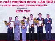 Nghiên cứu về kháng sinh của bác sĩ Chợ Rẫy thắng giải KOVA