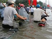 Giải pháp chống ngập nước mới ở TP HCM