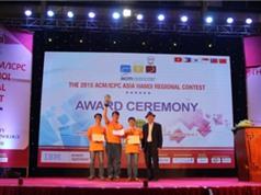 Hai đội tuyển sinh viên VN dự Chung kết lập trình toàn cầu 2016