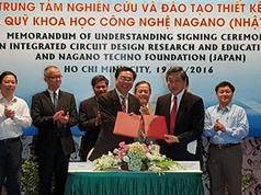 Việt Nam - Nhật Bản hợp tác tạo bước phát triển mới trong ngành vi mạch