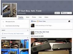 Facebook cấm rao bán súng
