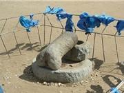 Phát hiện dương vật gỗ cạnh xác ướp phụ nữ 4.000 năm