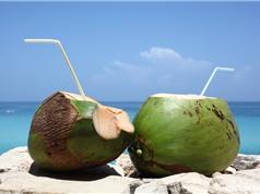 Lợi ích không ngờ của uống nước dừa mỗi sáng