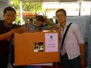 Nhóm sinh viên giúp nông dân biến bùn thải thành phân bón