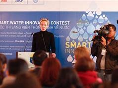 Tìm kiếm sáng kiến thông minh bảo vệ nguồn nước
