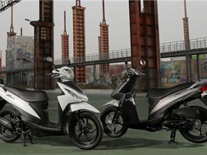 Cận cảnh xe tay ga giá rẻ vừa ra mắt của Suzuki