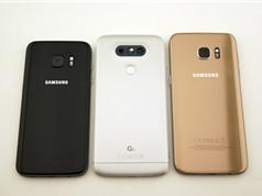 LG G5 đọ dáng với Samsung Galaxy S7, S7 Edge