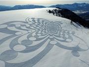 Những kiệt tác nghệ thuật được tạo ra bằng cách đi bộ