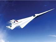 NASA thiết kế máy bay chở khách siêu thanh không gây tiếng ồn