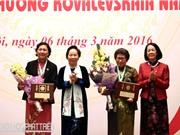 2 nhà khoa học nữ tiêu biểu được nhận Giải thưởng Kovalevskaia