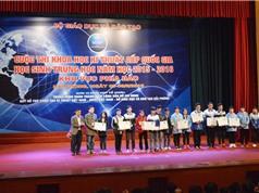 9 đề tài lĩnh vực STEM được trao giải tại ViSEF 2016 phía Bắc