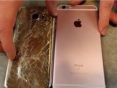 "Clip: iPhone 6s ""sống dai"" hơn Samsung Galaxy S7"