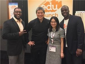 Phần mềm tiếng Anh của Việt Nam chiến thắng tại cuộc thi khởi nghiệp ở Mỹ