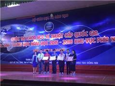 'Thần đồng tin học' Kim Hảo đoạt giải vận dụng STEM xuất sắc nhất