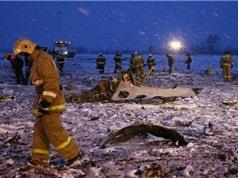 Cận cảnh hiện trường vụ tai nạn máy bay thảm khốc ở Nga