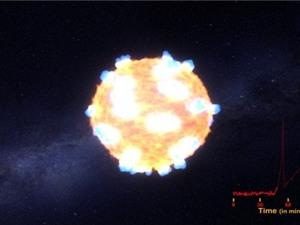"""NASA lần đầu""""bắt"""" được vụ nổ sao đỏ khổng lồ"""