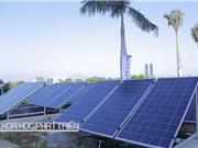 Thắp sáng cụm đảo Cà Mau bằng năng lượng mặt trời