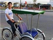 Đà Nẵng đã có xích lô năng lượng mặt trời
