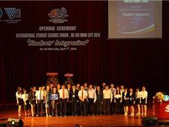 Khai mạc diễn đàn khoa học sinh viên quốc tế TP.HCM