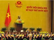 Quốc hội phê chuẩn đề nghị bổ nhiệm 3 Phó Thủ tướng, 18 Bộ trưởng mới