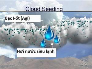 Cứu hạn nhờ công nghệ làm mưa nhân tạo