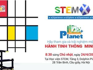 Cơ hội tiếp cận công nghệ phổ biến trong tương lai cho trẻ tại sự kiện STEM-X