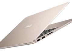 Asus Zenbook UX305CA: Thiết kế siêu mỏng, vỏ nhôm nguyên khối