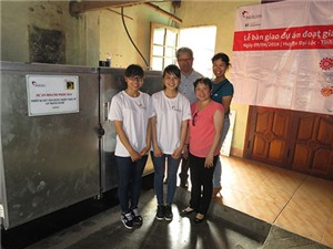 Người làm bánh tráng xứ Quảng hưởng lợi từ công nghệ sấy mới