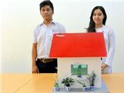 Học sinh lớp 10 sáng chế nhà ở chống ô nhiễm